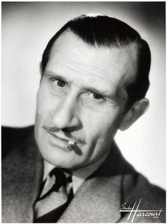 Noël Roquevert, 1892 - 1973 Thomas Man, Star Francaise, Black And White Stars, Actor Studio, Celebrity Stars, Famous French, Star Wars, Celebrity Portraits, Photographic Studio