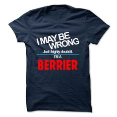 (Tshirt Perfect Choose) BERRIER  Discount 10%  BERRIER  Tshirt Guys Lady Hodie  SHARE and Get Discount Today Order now before we SELL OUT Today  Camping 0399 cool name shirt