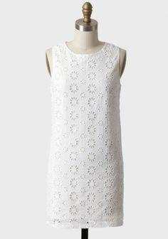 Summer Dreaming Eyelet Dress | Modern Vintage Dresses - law school graduation dress for the Mr ?