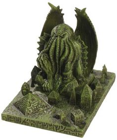 The Cthulhu Domain Statue