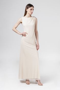 YV7097L sukienka wieczorowa - Navona