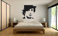 Rocky Balboa wall sticker vinyl graphic decal large Stalone transfer