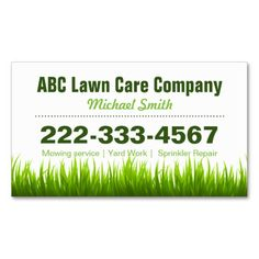 Lawn care business card lawn care landscaping business cards lawn care business card lawn care landscaping business cards ideas pinterest lawn care business lawn care and business cards accmission Image collections