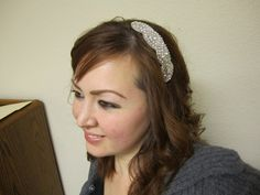 Gorgeous Crystal Rhinestone HeadbandGreat for by BewitchingBlooms, $26.00