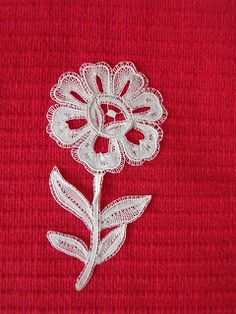 Por el hilo...: Flor de Duquesa
