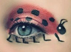 now thats eye make up