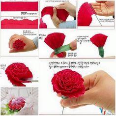 Sưu tầm 20 cách làm hoa giấy đơn giản cho chị em