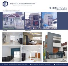 Peter pack residential project in Gading Serpong - Tangerang