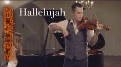 RIP Leonard Cohen; thank you for this beautiful song  _ Hallelujah - Violin Looping cover - ONE TAKE (by Rob Landes and Aubry Pi...
