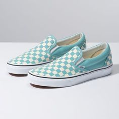 b8c707e4fb5c6 The Checkerboard Classic Slip-On features sturdy low profile slip-on canvas  uppers with. Vans