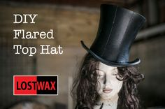 How To Make A Mad Hatter Top Hat- A DIY Tutorial and Pattern