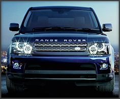 Navy Blue Ranger Rover. We will call him Rover.