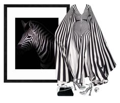 """""""Z is for Zebra"""" by terry-tlc ❤ liked on Polyvore featuring PTM Images, Rodarte, Bling Jewelry and Dolce&Gabbana"""