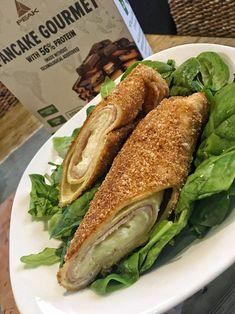 A sós palacsinták legjobbja! Itt a Cordon Bleu palacsinta! Cordon Bleu, Bagel, Mozzarella, Sandwiches, Food, Essen, Meals, Paninis, Yemek