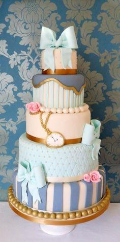 Alice in Wonderland Birthday Cake | Bespoke Wedding Cakes in Oxford | Cake Sweet Cake