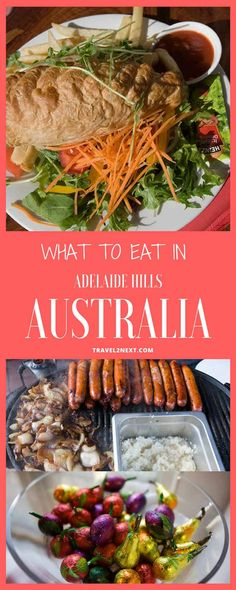 Adelaide things to do   Adelaide Hills. The Adelaide Hills is one of South Australia's leading destinations for good food and fine wine.