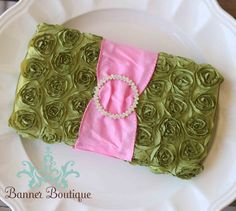Apple Green and Bubble Gum Pink Diaper Wipes Case-Apple Green and Bubble Gum Pink Diaper Wipes Case