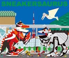 土谷尚武 : Sneakersaurus
