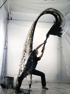Freeze-Frame Water Art - Stop-Motion Aerial Water Collisions by Shinichi Maruyama (GALLERY)