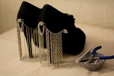 Love these Curtain heels....with instructions on how to do Tassled heels