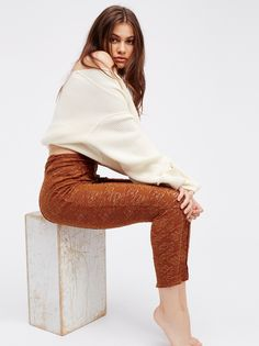Intimately Not Just A Lace Legging at Free People Clothing Boutique