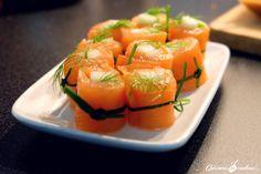 maki de saumon fume