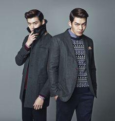 Summore eyecandy! ~ Lee Jong-seok and Kim Woo-bin strut their stuff » Dramabeans