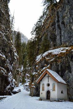 Serrai di Sottoguda - Dolomites, province of Belluno, Veneto, Northern Italy