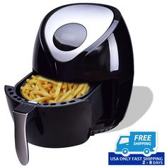 1400 W Electric Air Fryer with Digital Touch Screen!!