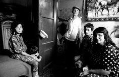 Gypsy family, Korce, Albania 1994
