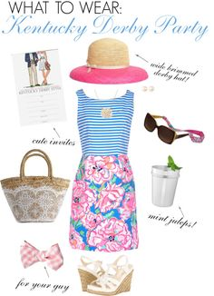 What to Wear: Kentucky Derby Party