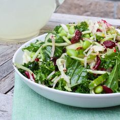 Sesame Orange Kale Salad - Eat Spin Run Repeat