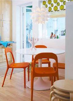 Orange Deco: Comedor ikea