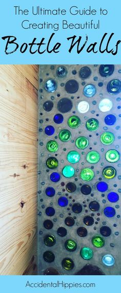 Bottles walls are great in cordwood, cob, and earthship building designs. This guide will show you everything we learned about making and building with bottle bricks so that you can do it too.