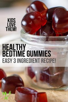 With three simple ingredients, these Bedtime Gummies are sweetened with raw honey for extra nutrition and are overall a great Paleo & GAPS treat. || Prepare and Nourish