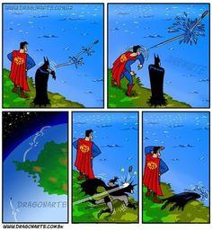 Y creo que por eso batman ya no aguanto mas.
