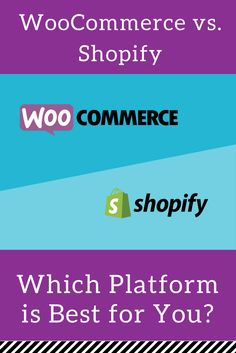Wondering what's the difference between WooCommerce and Shopify? Let us help you decide which will best suit your needs.