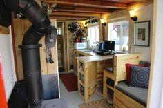 Jeremy Matlock's Custom $10k Tiny Home on Wheels