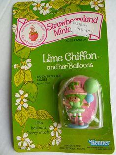 Vintage Strawberry Shortcake Miniature Lime