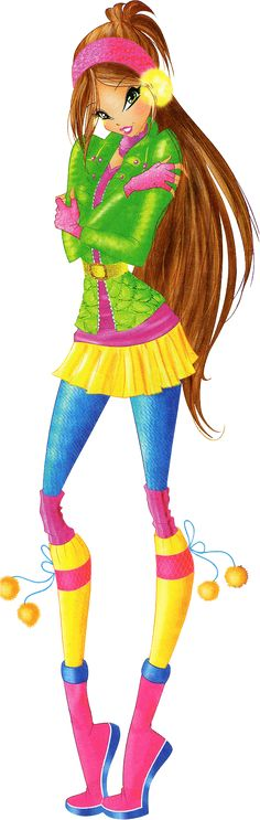 Winx Club S6 | Flora Winter Beijing