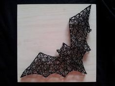 DIY Take home kits for string art. Choose from a bat, butterfly, heart, flower or skull. Do it your self!