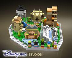 Lego Mocs Micro ~ LEGO Ideas - Disneyland Microscale