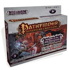 Pathfinder Adventure Card Game: Wrath of the Righteous Adventure Deck 3: Demon's Heresy