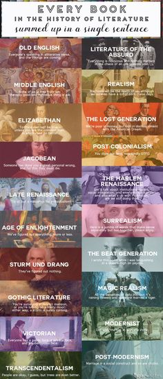 SparkLife » Every Book in the History of Literature Summed Up in a Single Sentence