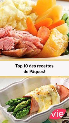 Top 10 des recettes de Pâques! Le Diner, Mashed Potatoes, Crockpot, Buffet, Nutrition, Fruit, Ethnic Recipes, Hands, Food