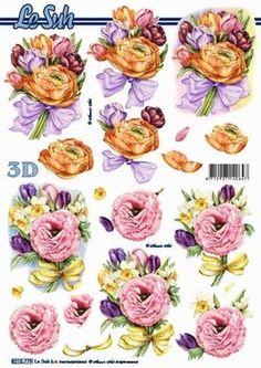 0111 Le Suh Nouvelle 3D stappenvel spring bouquet 8215779 - Flowers