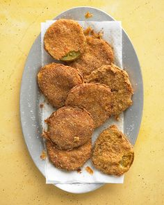 Though fried green tomatoes are commonly thought of as a Southern staple, they were actually an invention of 19th-century Northern farmers who would pick the remaining green tomatoes from their vines before first frost.
