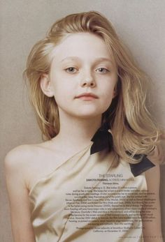 Dakota Fanning...one of the most talented actresses of all time