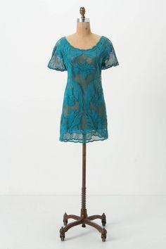 Beach cover-up & perfect dress for beachside wedding! Aracari Mesh Cover-Up - Anthropologie.com