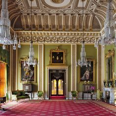 Inside Buckingham Palace's Resplendent, Never-Before-Seen Rooms - Vogue Palais De Buckingham, Buckingham Palace London, Beautiful Architecture, Interior Architecture, English Country Style, Royal Residence, Windsor Castle, Royal Palace, Gloucester